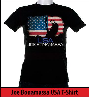 Bonamassa USA world tee
