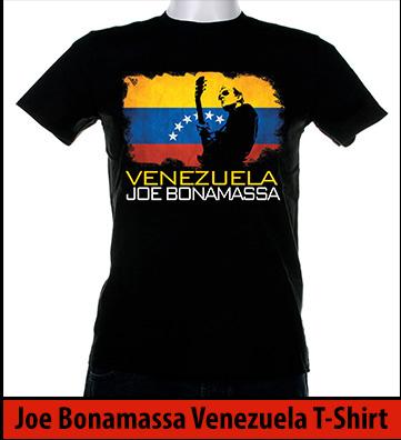 Bonamassa Venezuela world tee