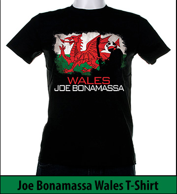Bonamassa Wales world tee