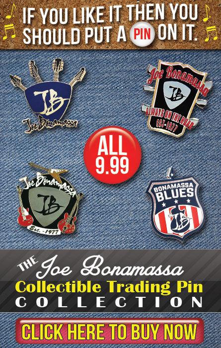 Joe Bonamassa Makes It To Carnegie Hall!